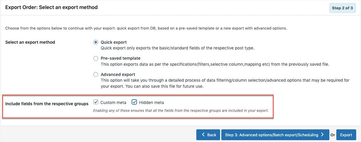 quick-export-meta