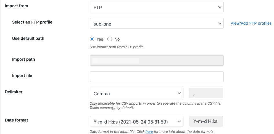 Import-from-FTP