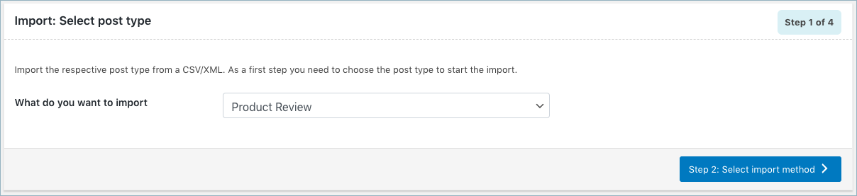 WooCommerce-Product-Reviews-Import-Step-1