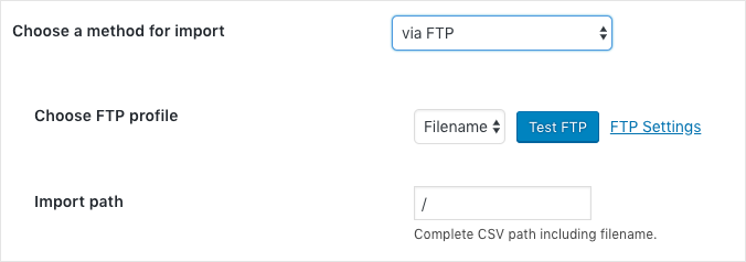 WooCommerce Import Users:Customers via FTP