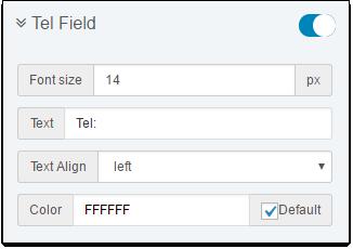 C Invoice TelField