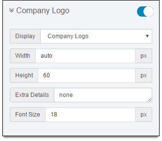 invoice Company Logo