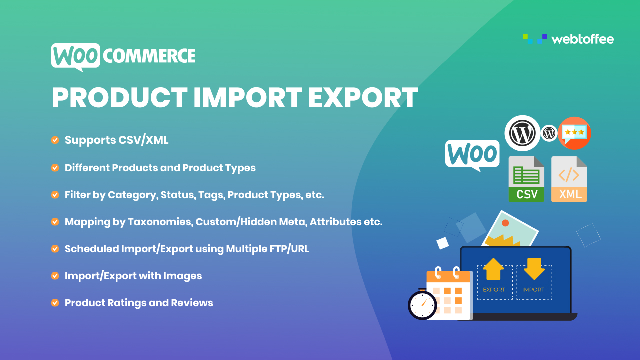 Product Import Export Plugin for WooCommerce featured image