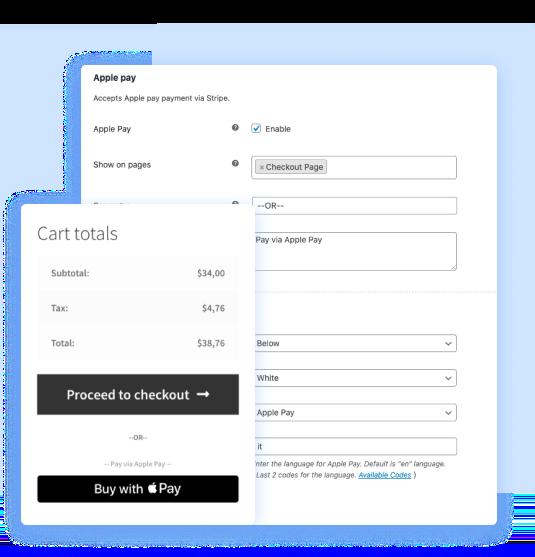 WooCommerce Stripe gateway plugin customization options
