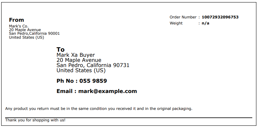 WooCommerce PDF Invoices, Packing Slips, Delivery Notes and Shipping Labels