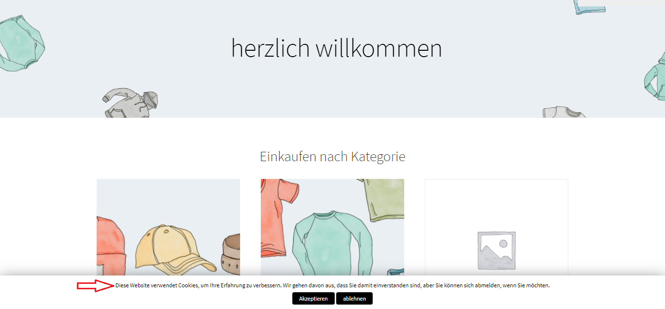 Website in German