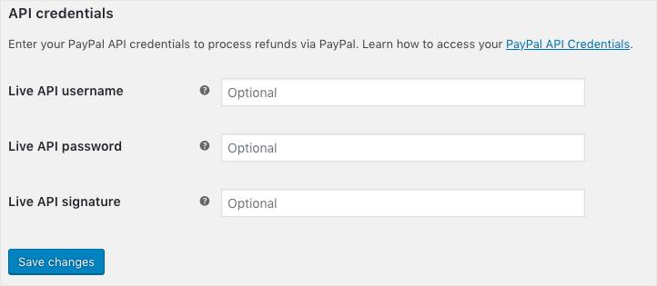 PayPal-API Credentials