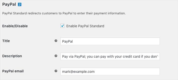 PayPal-Basic details
