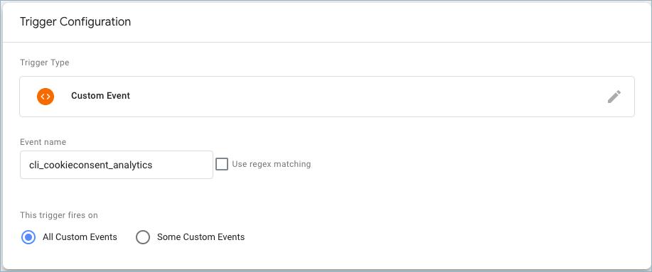 GDPR GTM Compatibility-Trigger Configuration