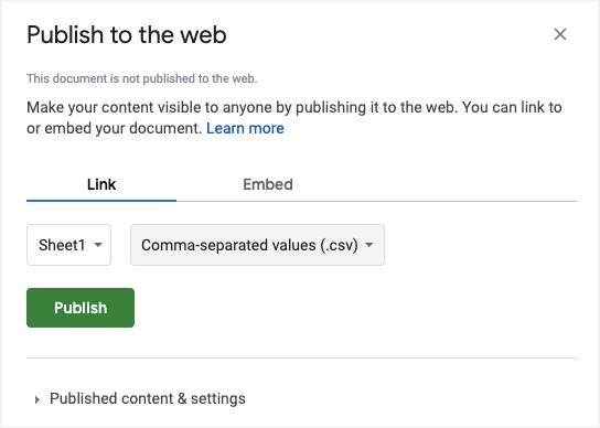 publish-to-web