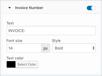 WooCommerce Invoice-Customize Tab-Common attributes