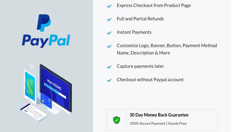 Premium PayPal plugin