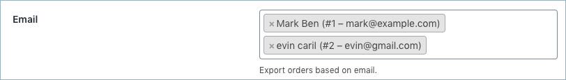 WooCommerce Order Export- Customer Email