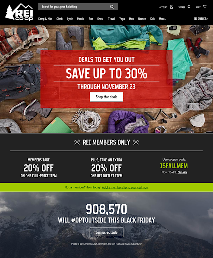 REI Black Friday Deal