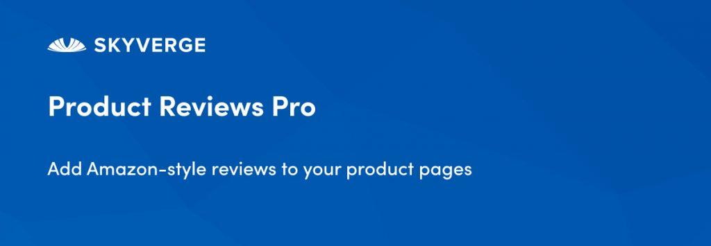 WooCommerce Reviews Pro plugin