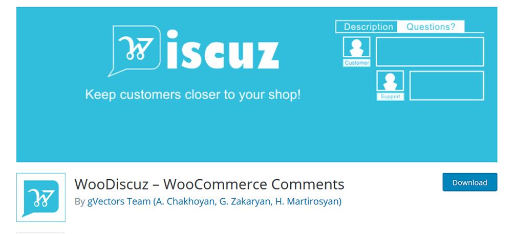 WooDiscuz Comments Plugin