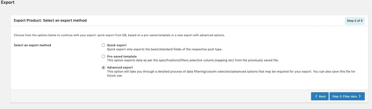 WooCommerce Import Export Suite-Order-Export-adavanced-method