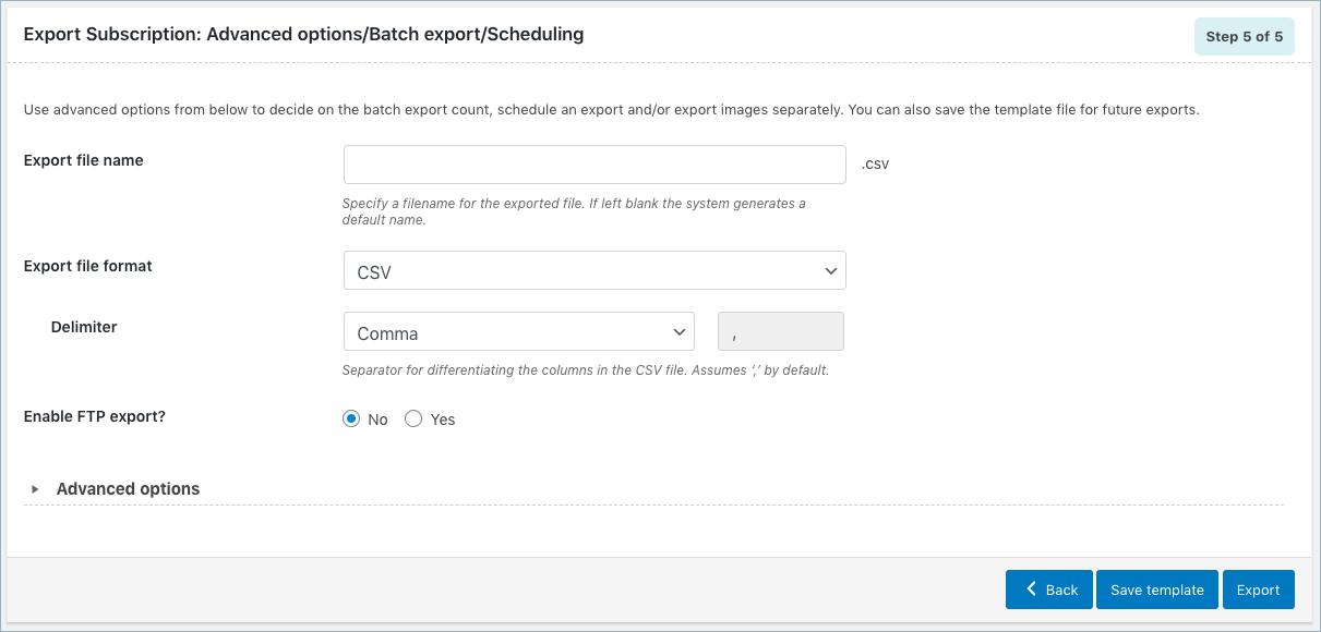 WooCommerce Susbcription Order Export-Step 4