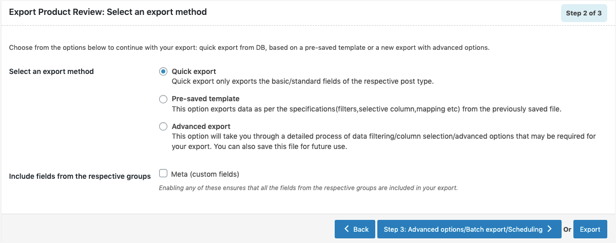 product-reviews-export-quick-method