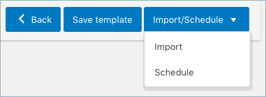 Import-and -schedule