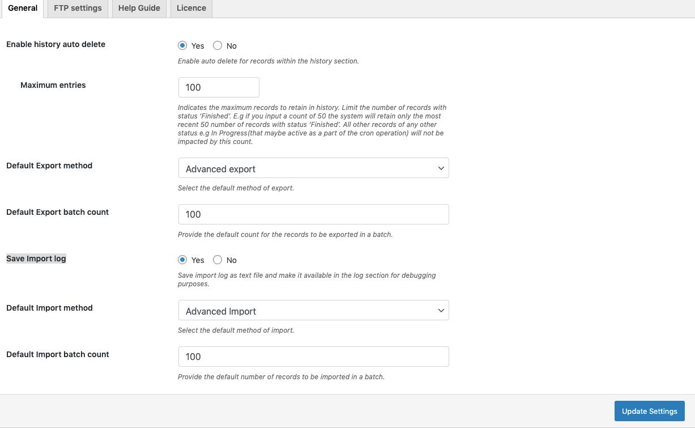 WooCommerce Import Export Suite-save-import-log