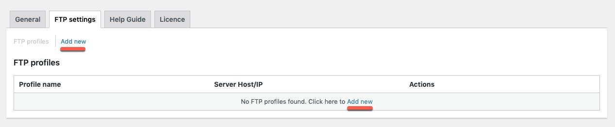WooCommerce-import-export-suite-Ftp-settings