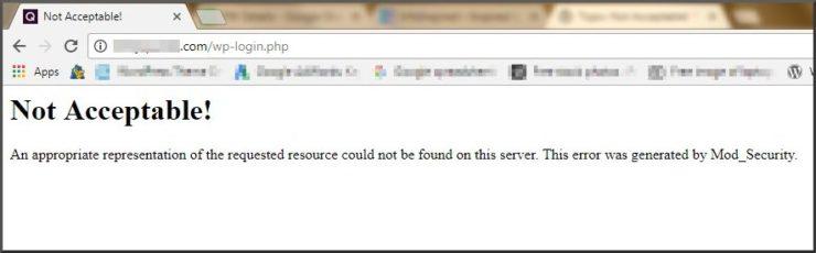 mode_security generated error