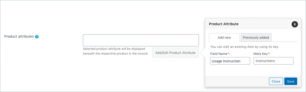 This image has an empty alt attribute; its file name is Addedit-product-atrribute-in-WooCommerce-invoice-1024x311.png
