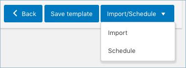 import-schedule